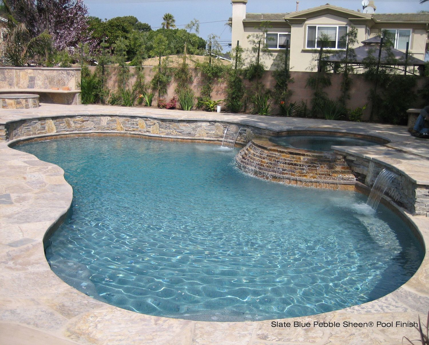 Finest Pebble Sheen | Small Pebbles | Granite Pool | Northwest Pools  AG45