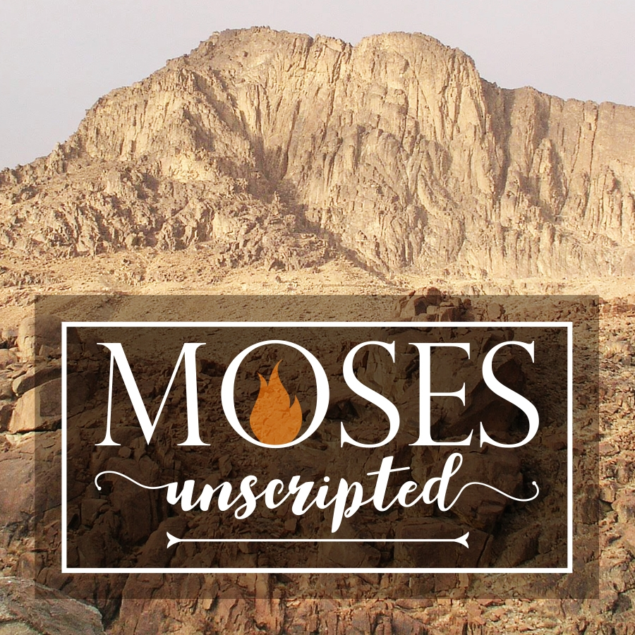 MOSES UNSCRIPTED Season 2, E2: Sinai Rest Stop May 14, 2017 Study Guide