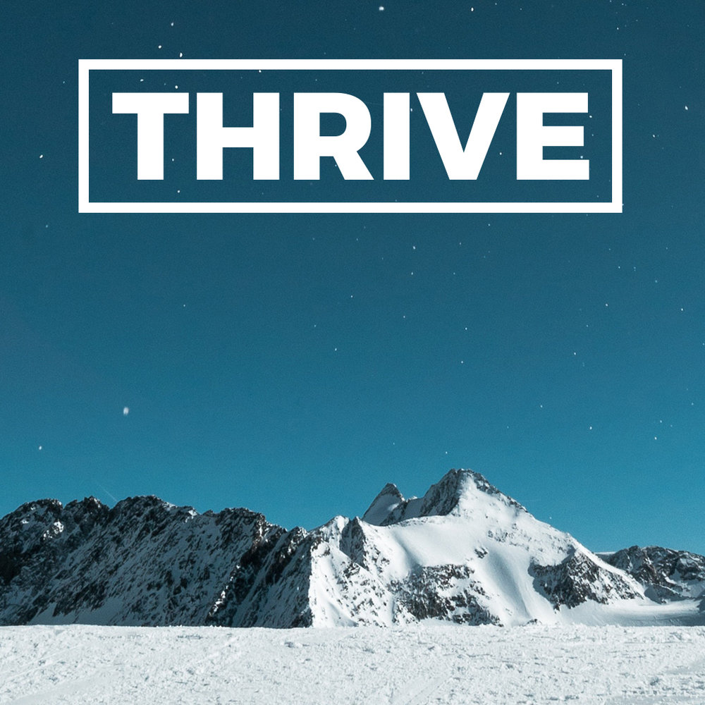 THRIVE Relationally Jan 28, 2018 Study Guide