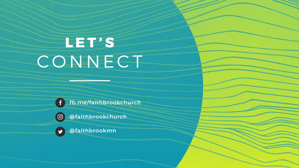 Faithbrook Church Social Media