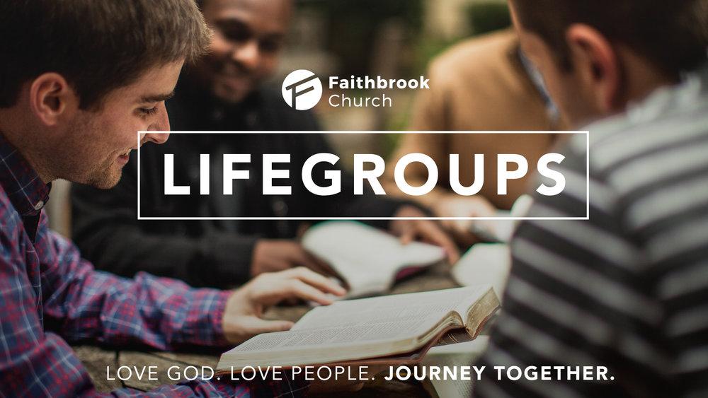 Faithbrook Church Adult Small Groups