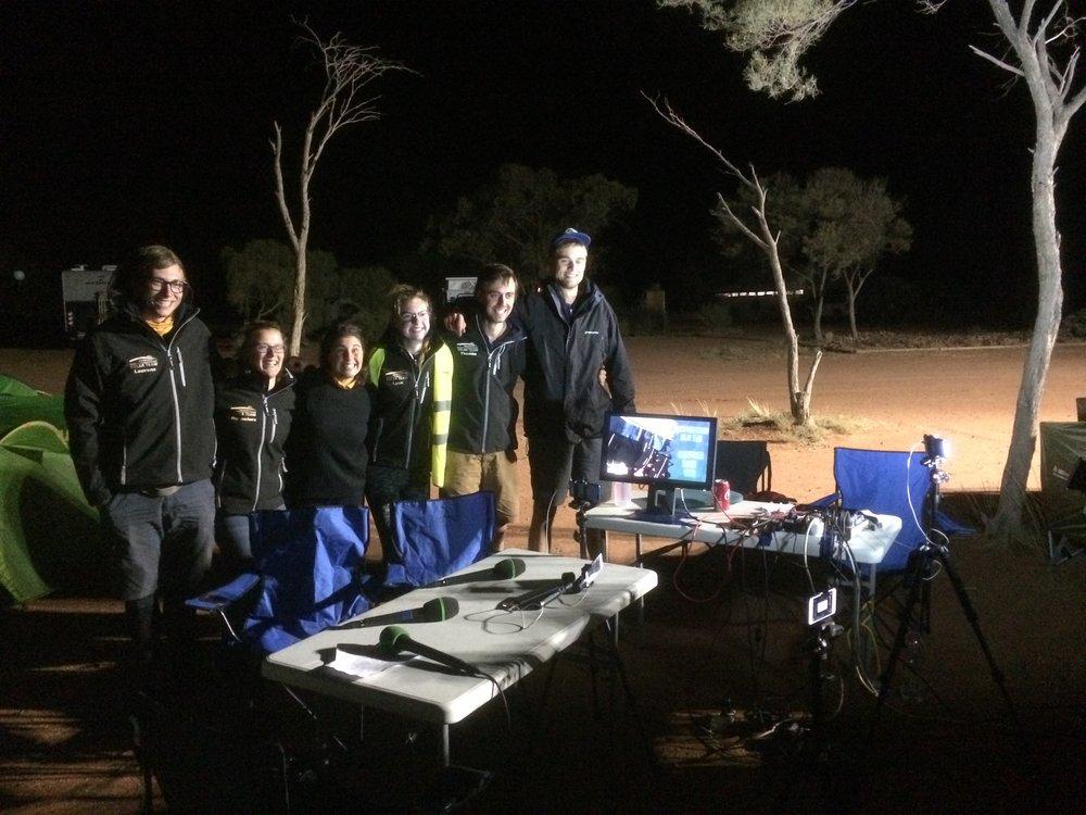 Solar Camera Crew