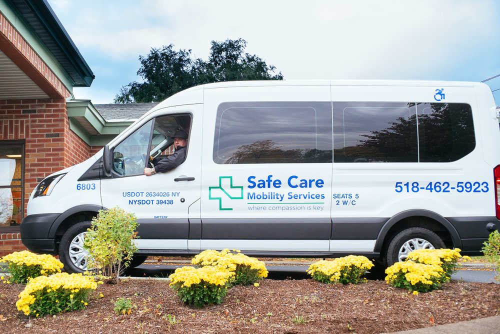 Albany Ambulette Service Medical Transportation Van