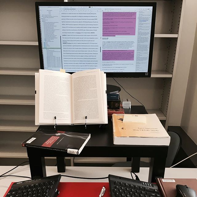 Only 89,000 words to go... #PhuD #monkeysandtypewriters #phdlife #ualberta #cantstopwontstop #goingblind
