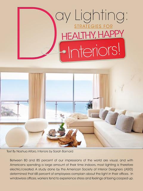 Sarah Barnard Design Featured In: Design Design Magazine!