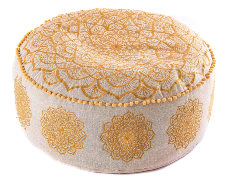 Ottomans, Footstools & Poufs Furniture Hospitable Vintage Fabric Footstool Promoting Health And Curing Diseases