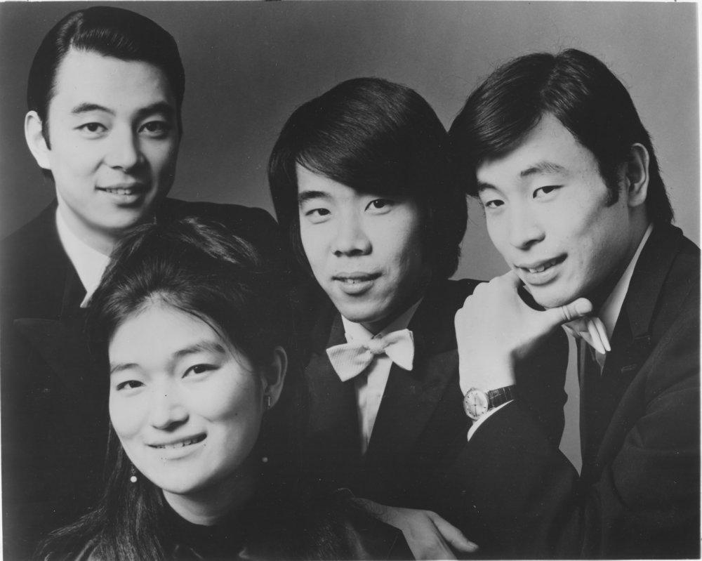 Tokyo String Quartet, 1972
