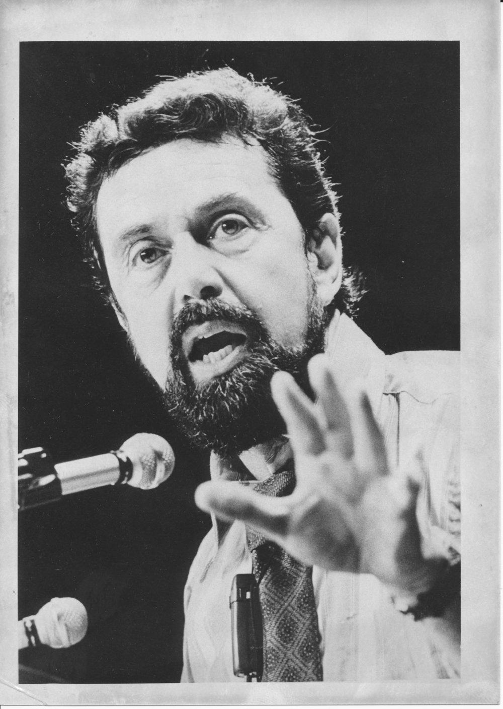 """Leo Buscaglia, """"Dr. Love"""", 1974"""