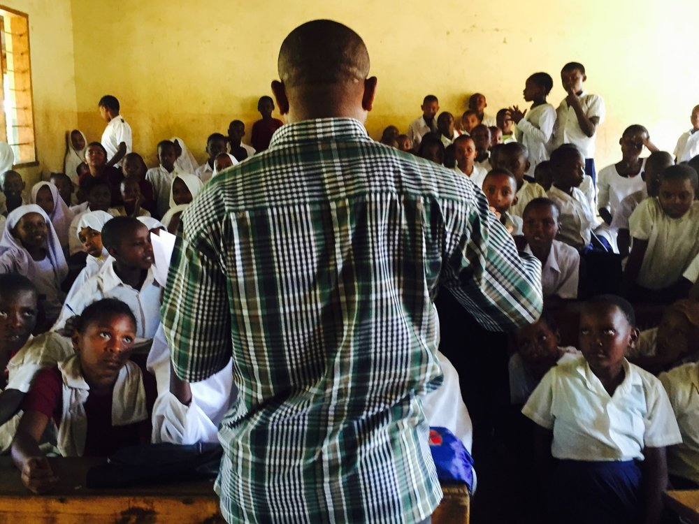 A rural primary school in western Tanzania