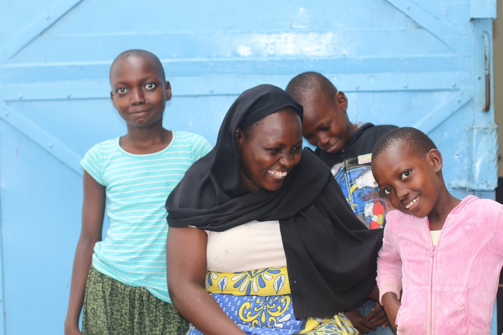 Three of our new beneficiaries!