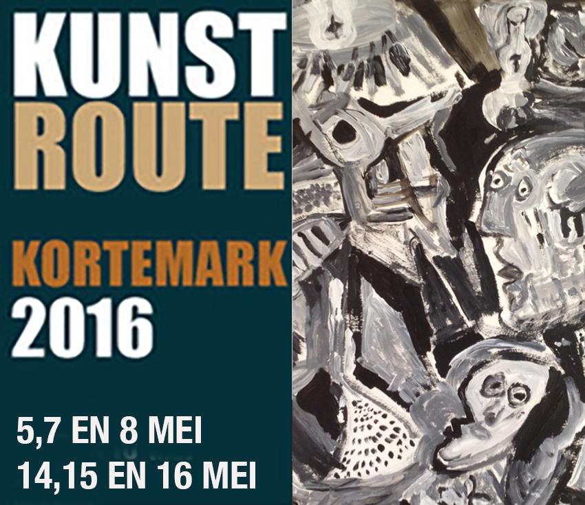 Guernica Beer Breyne / Luc Cornelis - Acryl