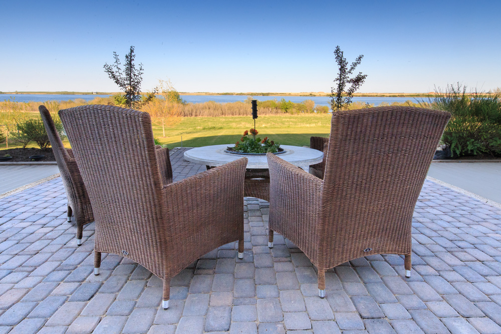 Chairs soaking up the beautiful summer skyline in Saskatchewan. Lots are now available.