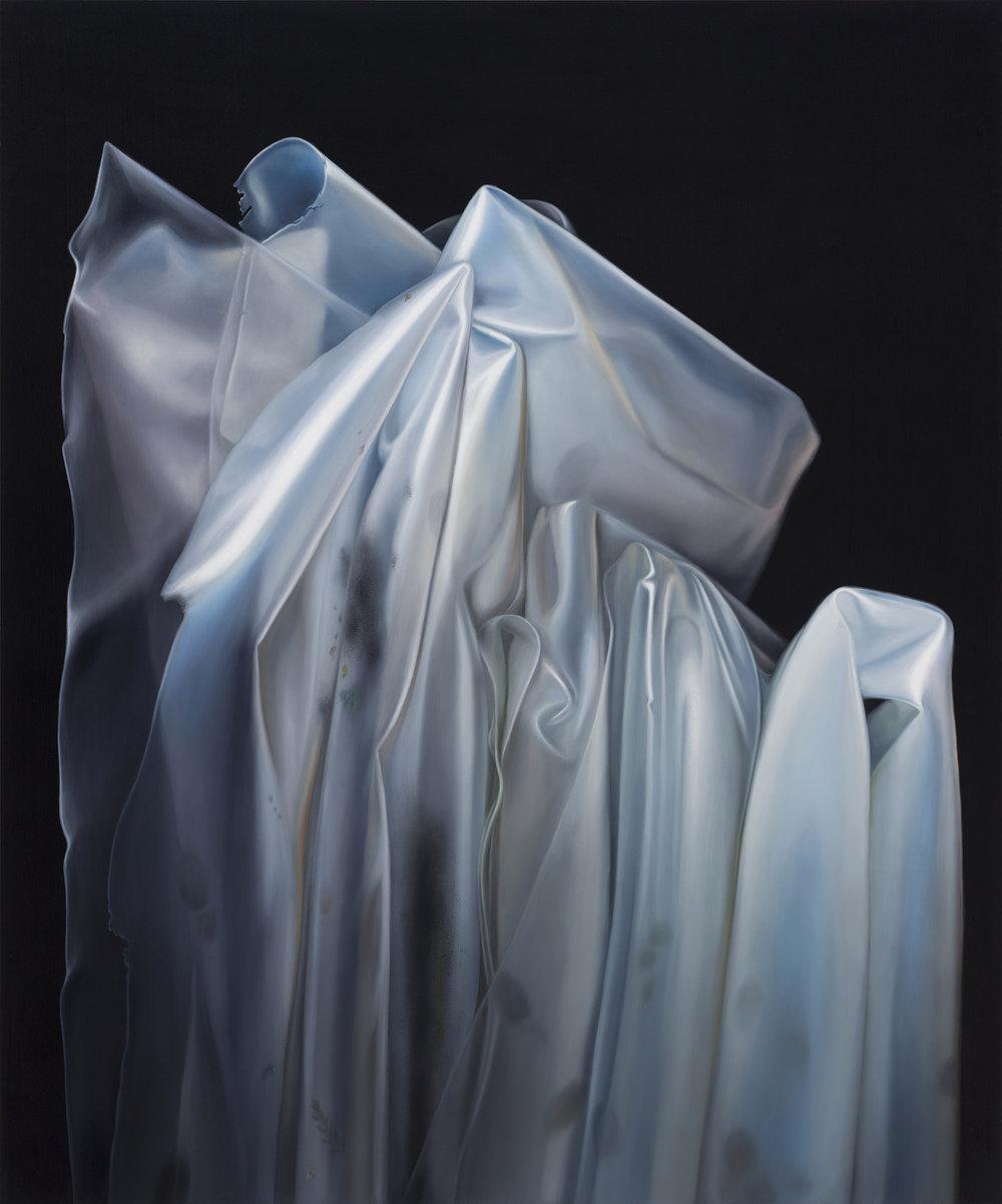Untitled, 2016. Oil on board, 42 x 35 cm