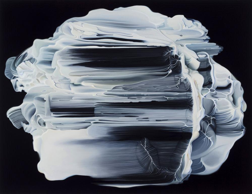 Untitled, 2018. Oil on board, 60 x 78 cm