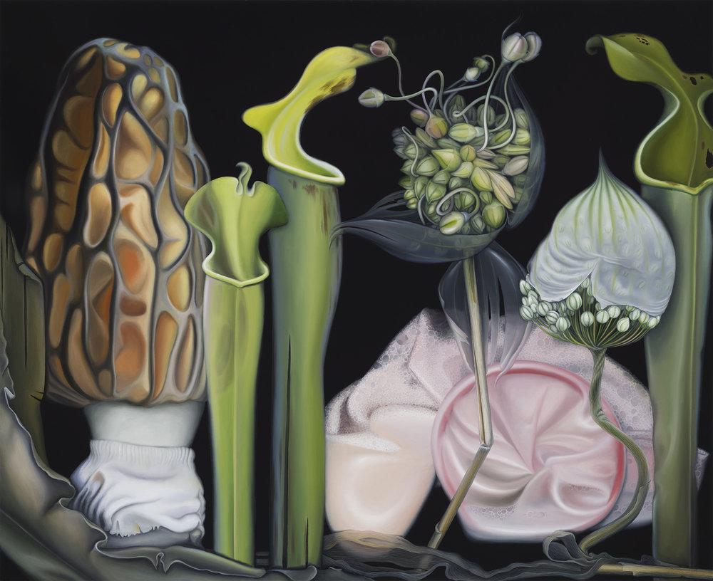 Untitled, 2015. Oil on board, 30 x 35 cm