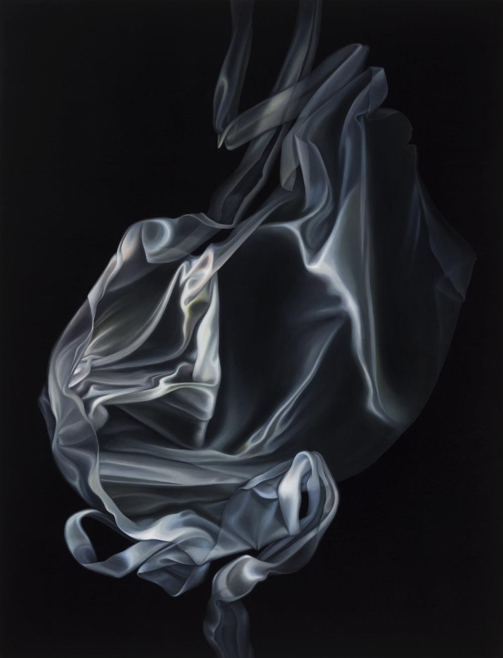 Untitled, 2016. Oil on board, 75 x 50 cm
