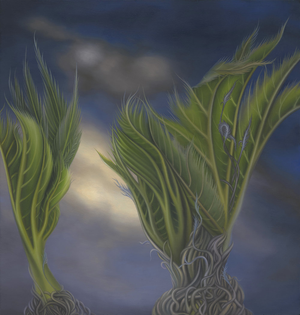 Untitled, 2012. Oil on board, 21 x 20 cm
