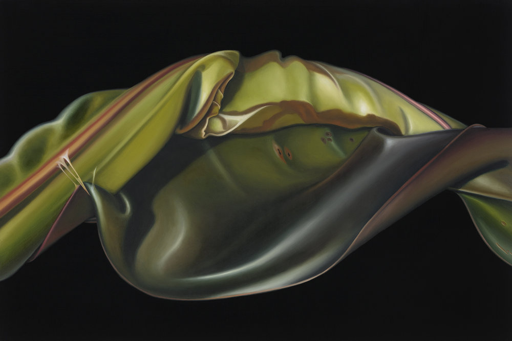 Untitled, 2013. Oil on board, 22 x 33 cm