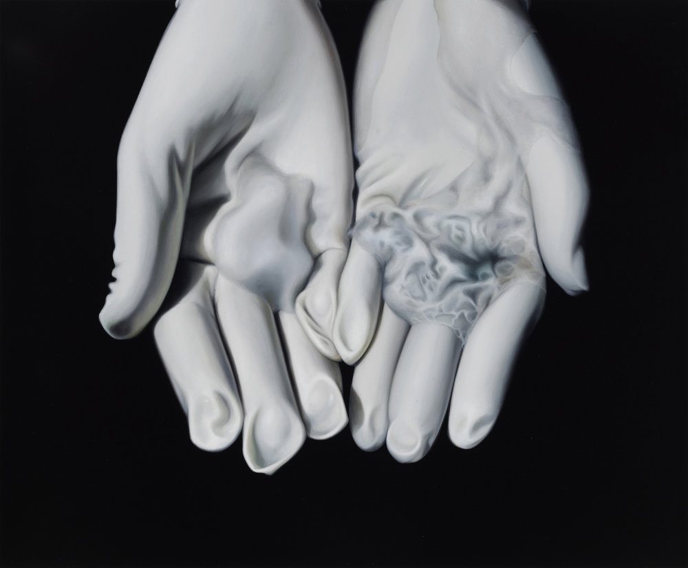 Untitled, 2016. Oil on board, 24 x 29 cm