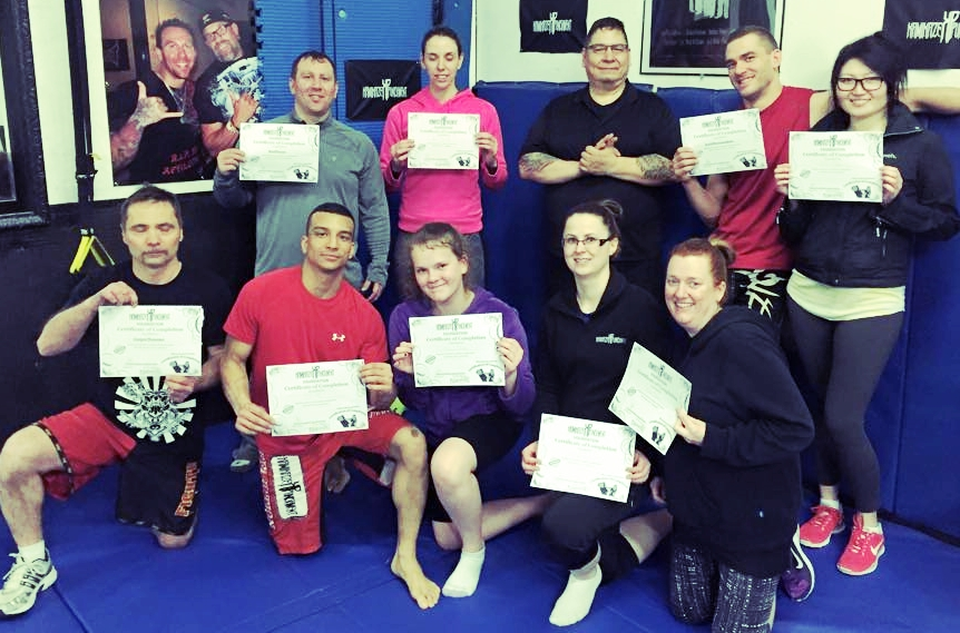Certification Self Defense community courses at Kamikaze Punishment Foundation.
