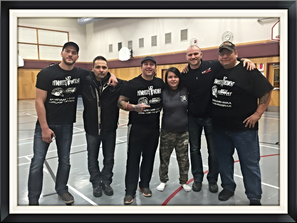 Women's anti-bullying program NWT-Yellowknife with self defence seminar.