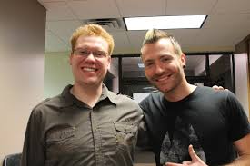 With Trevor of Thousand Foot Krutch
