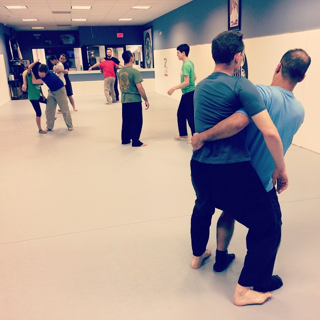 A fun night in Chapel Hill, exploring balance, tension and counter throws