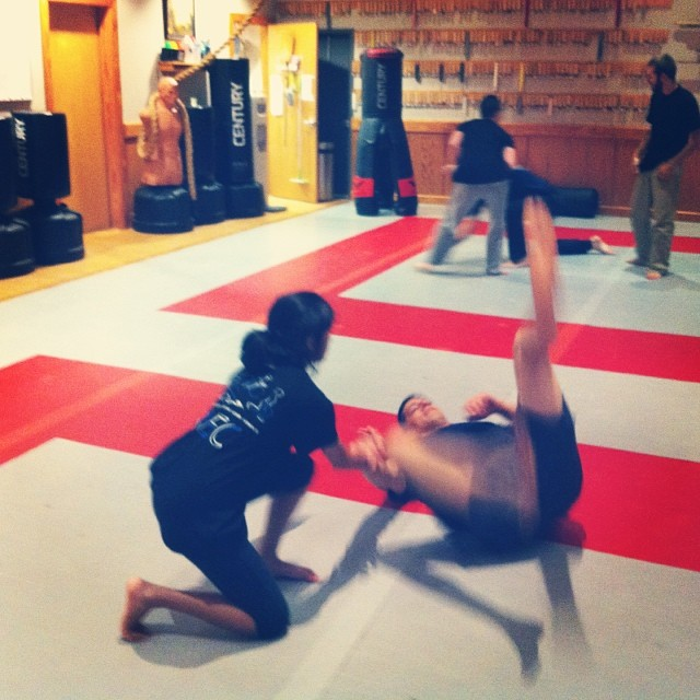Sapna drops Frank at a pensive, yet intense, Tuesday class in Chapel Hill