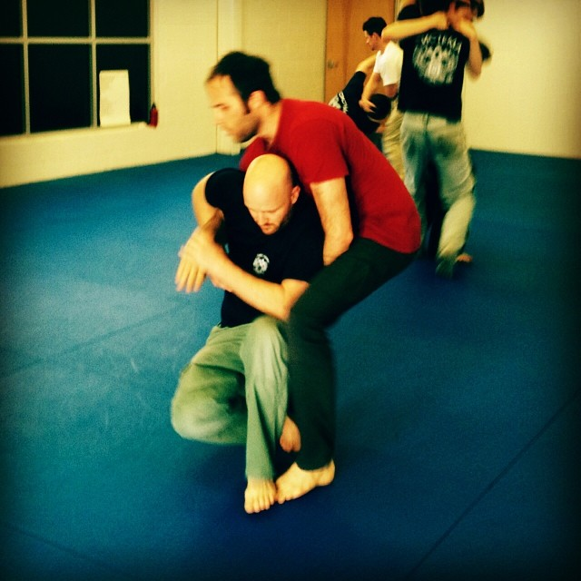 Takedown reversals at the Chapel Hill hangover class