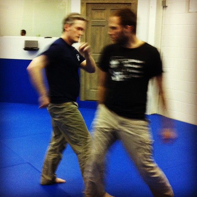 Stephen drops (elbow) bombs at an exploratory Friday night class in Chapel Hill
