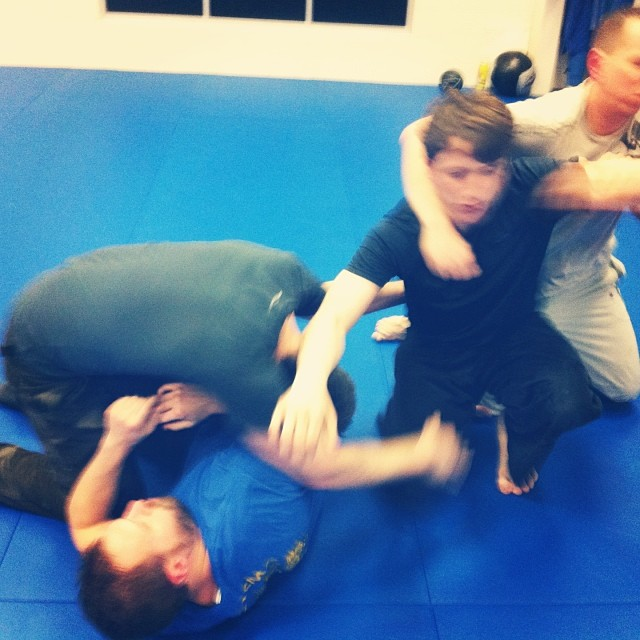 A little four-way grappling rounds off a high-energy Friday night at the Quest Center class