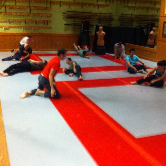 First class back at the Quest Center after the Thanksgiving break. Rollin' off that turkey…