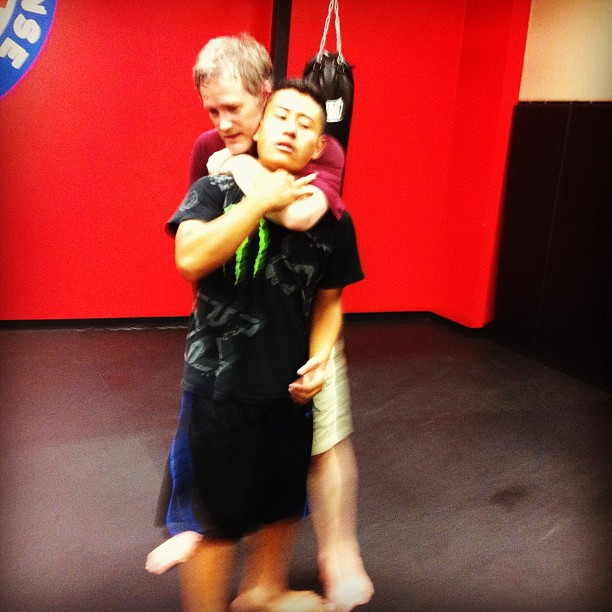 More chokes and strangles with the Clayton crew at Revolution Self Defense