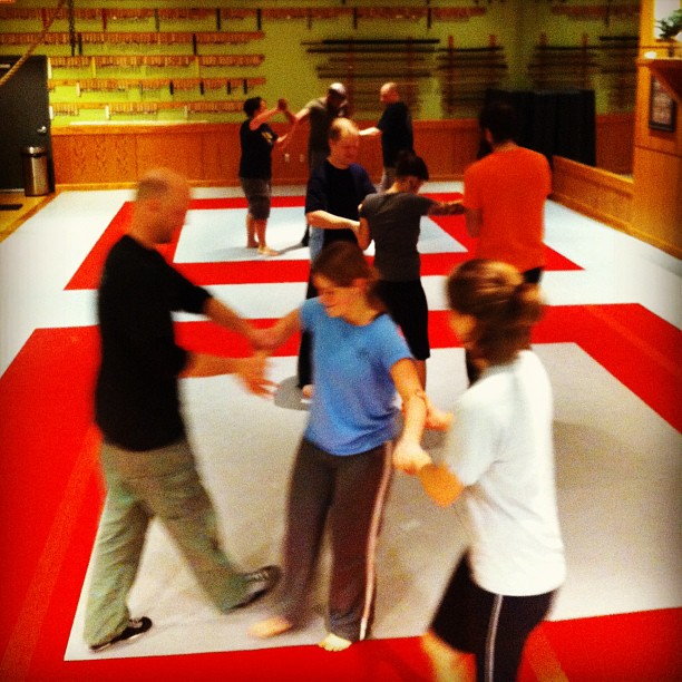 Four new recruits, and fun with selective tension @ the Quest Center Tuesday class