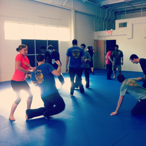 Workin' holds and escapes at the Systema Basics workshop @ Chapel Hill Jiu Jitsu, 1/12/13