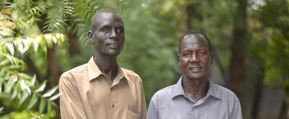 These pastors use Talking Bibles to comfort South Sudanese refugees. Please help us get more  Talking Bibles into areas where there is fighting and suffering. Give today and help share God's Word with people desperate for hope and peace.