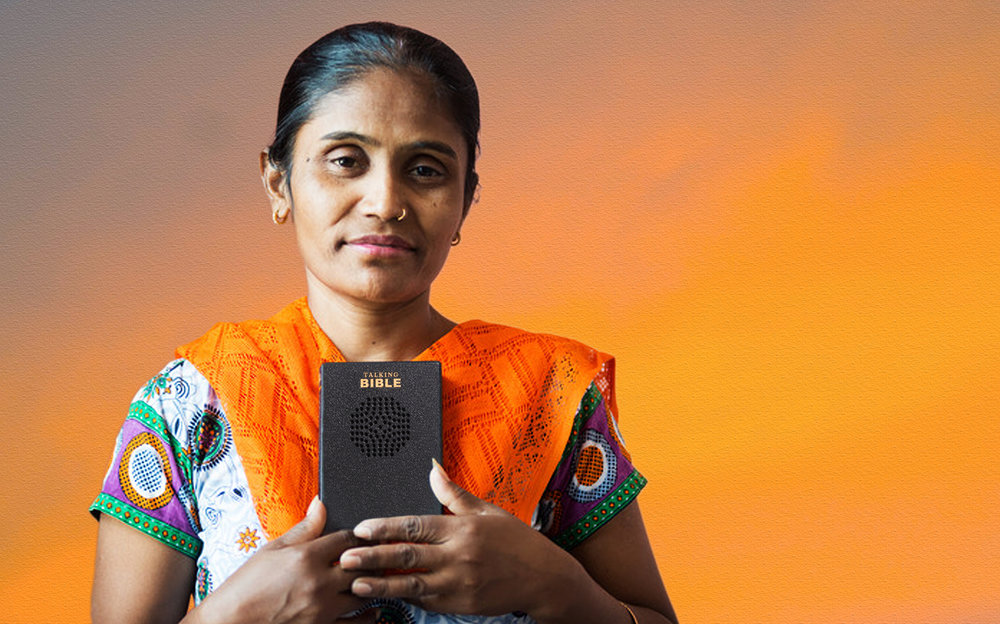 Ruth lives in an area where 80 percent of the people cannot read. Less than 1.3 percent are Christians.