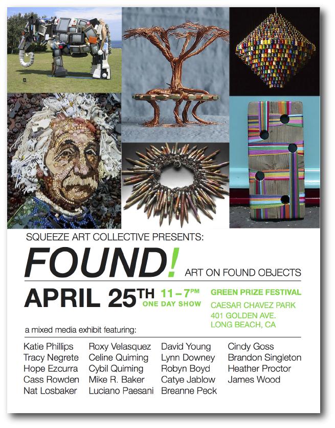 Found! Show flyer