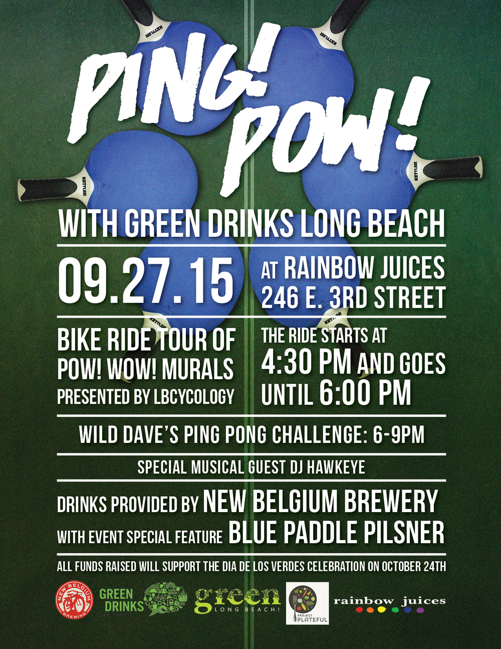 Ping! Pow! Flyer