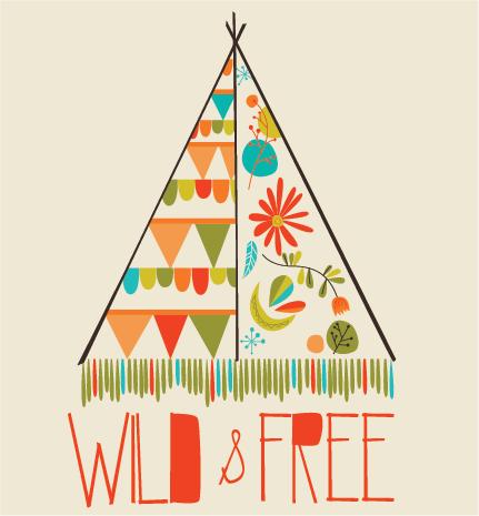 Wild & Free Boho Teepee