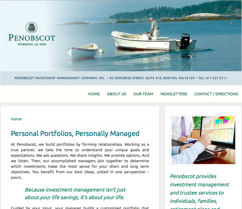 Penobscot Investment Mgmt Company
