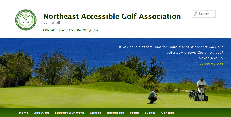 N.E. Accessible Golf Assn.