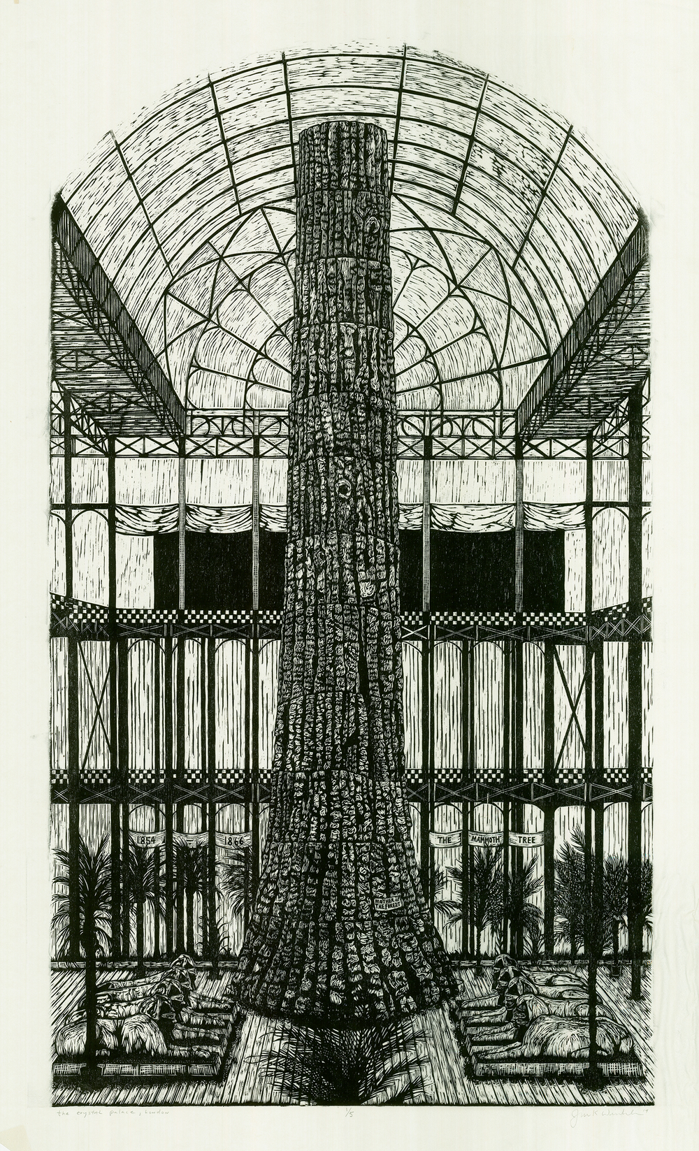 Mother of the Forest at the Crystal Palace, 1866