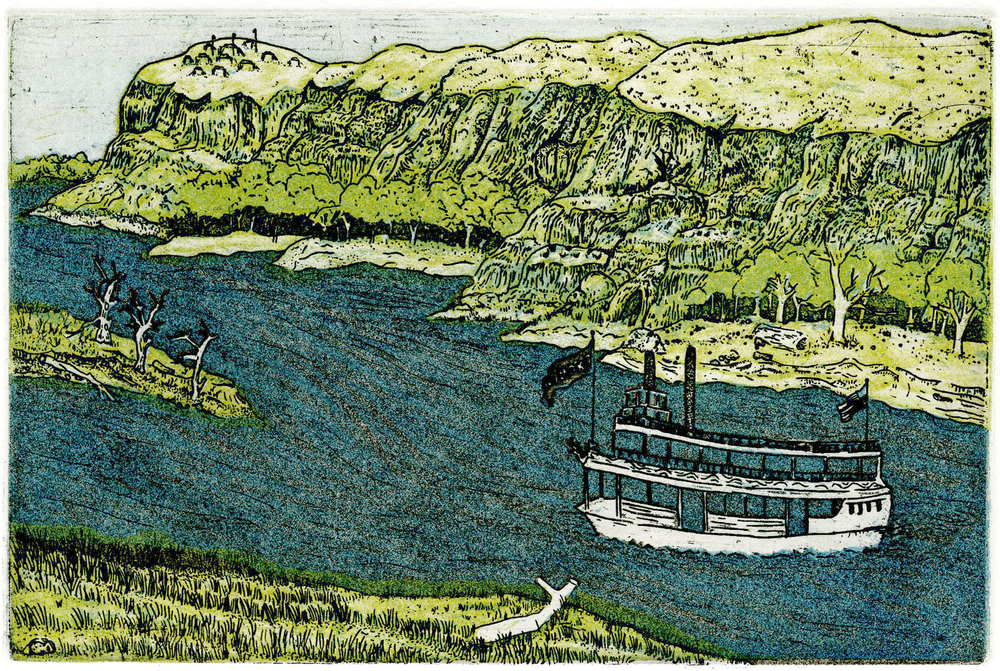 buckboat (Traverse des Sioux, 1851)