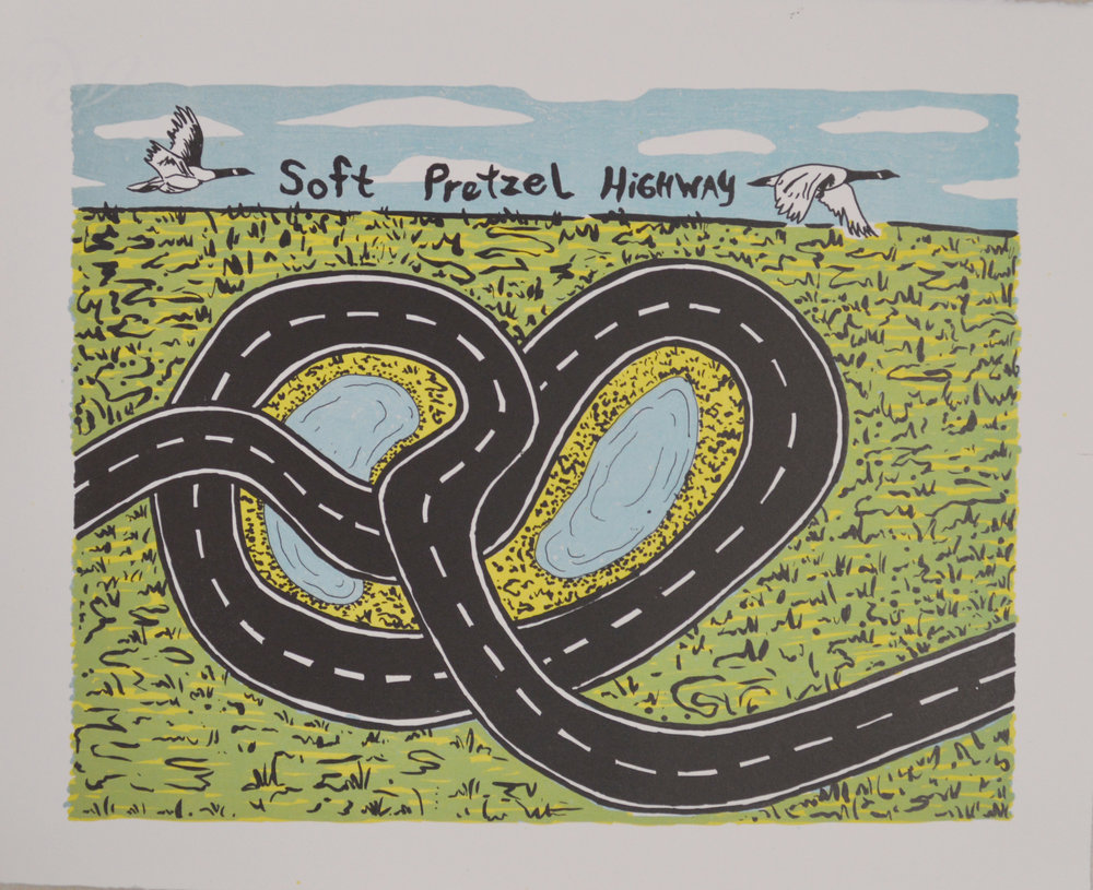 soft pretzel highway