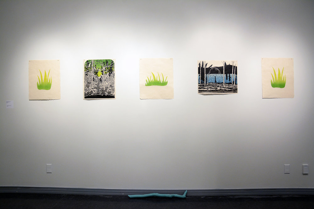 Natural & Manufactured Residency Exhibit
