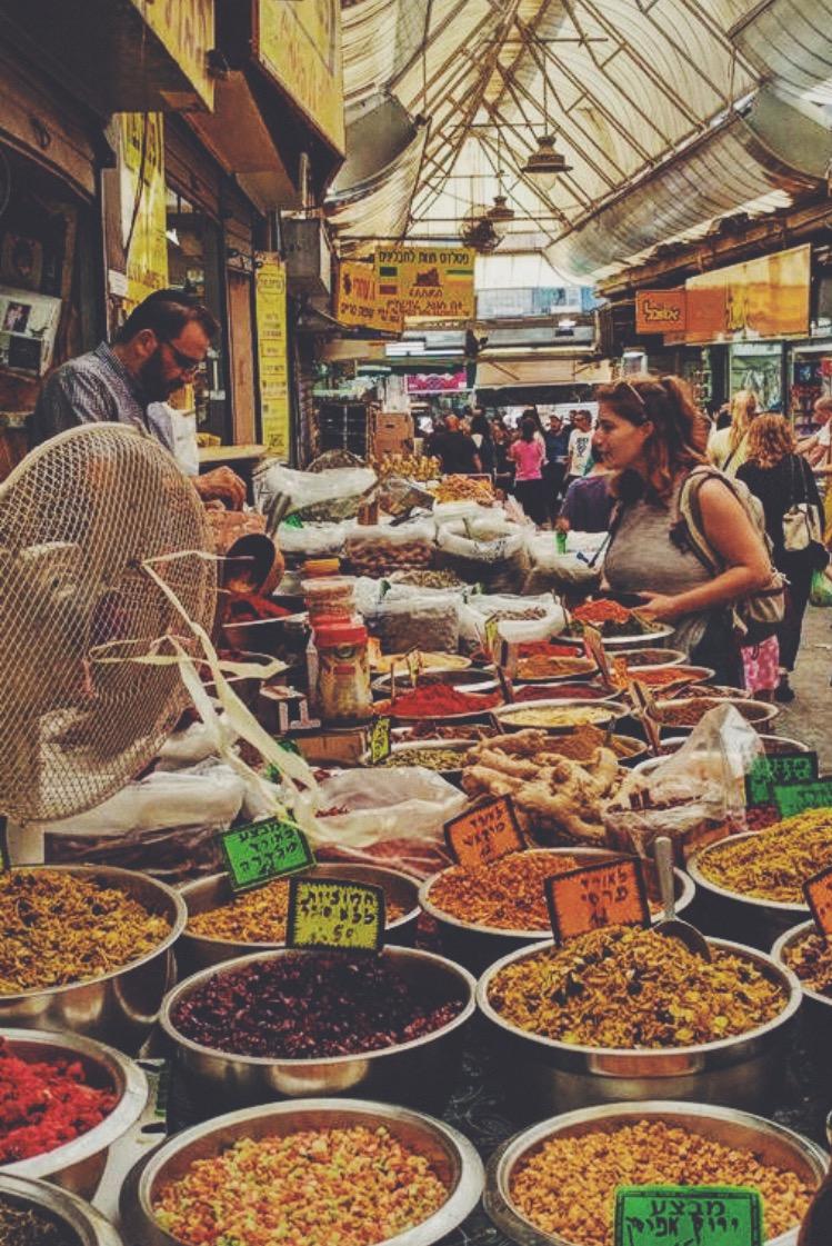Open markets of Jerusalem.