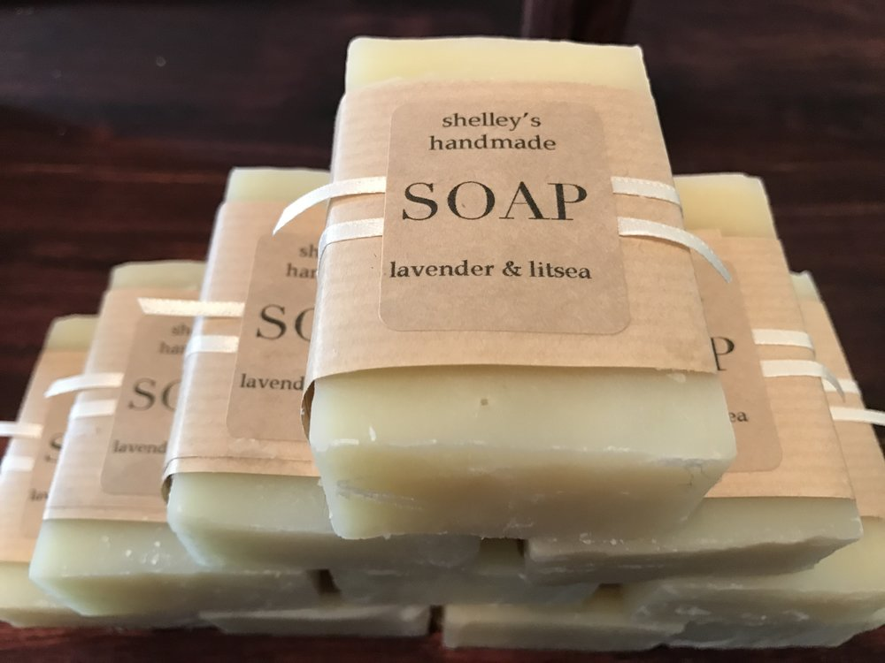 locally handmade vegan all-natural soap
