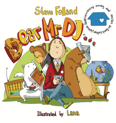 Steve Folland Landysh Dear Mr DJ Book Cover 2009