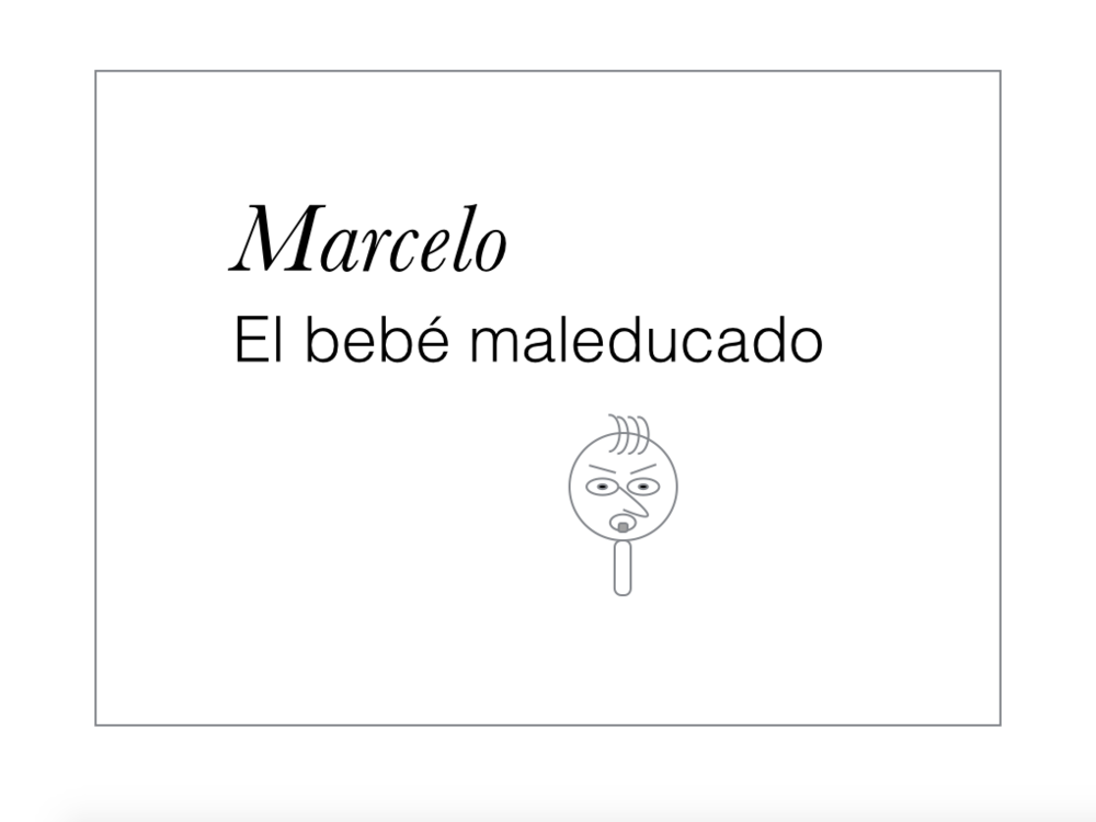 Read Spanish Comics — Marcelo el bebé maleducado